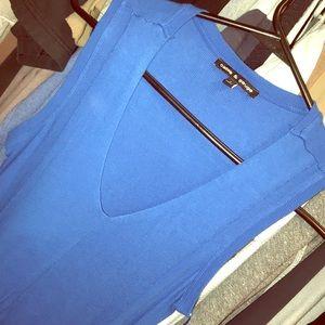 Tops - Blue tank top
